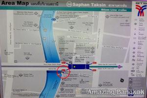 サトーン船着き場への行き方 エリアマップ