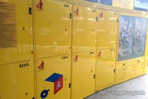 バンコクのコインロッカーサービス「LOCK BOX」