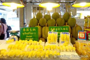 タイの果物を食べる時の注意点 ドリアン