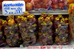 タイの果物を食べる時の注意点 マンゴスチン