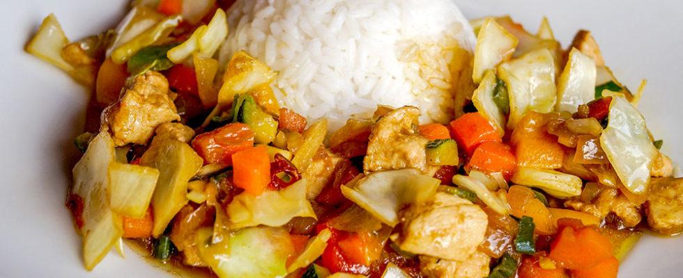 タイ野菜炒め