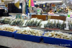 オートーコー市場 「鮮魚精肉」ゾーン