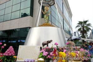 バンコクの中心でパワースポット巡り 女神プラメーラクシュミー