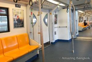 バンコクの電車「BTS」「MRT」「ARL」の駅構内、車内での禁止事項とは?