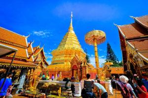 バンコクから行く、地方の有名観光地 チェンマイ