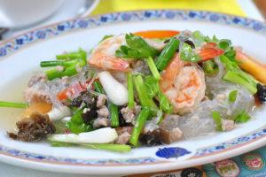 タイで食べたいエビ料理 ヤム・ウンセン