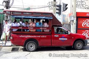 タイの乗り物ガイド トゥクトゥク・モーターサイ・ソンテウ