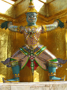 タイ仏教の神様 ヤック(夜叉)
