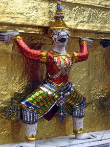 タイ仏教の神様 モック(桃太郎の猿)