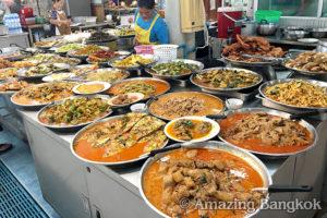 タイ料理レストランの種類 惣菜屋台