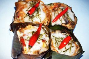 ホーモックプラー(白身魚のカレー煮)