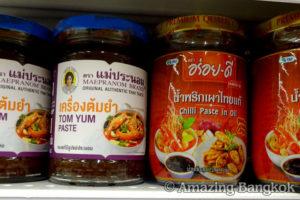 タイの調味料 ナムプリックパオ