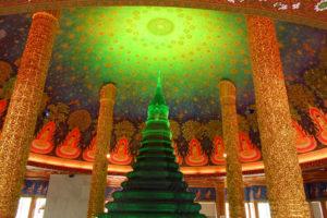 バンコクのオプショナルツアーの紹介 ワット・パクナム