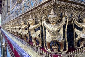 バンコクのオプショナルツアーの紹介 ワット・プラケオ