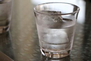 屋台の氷水